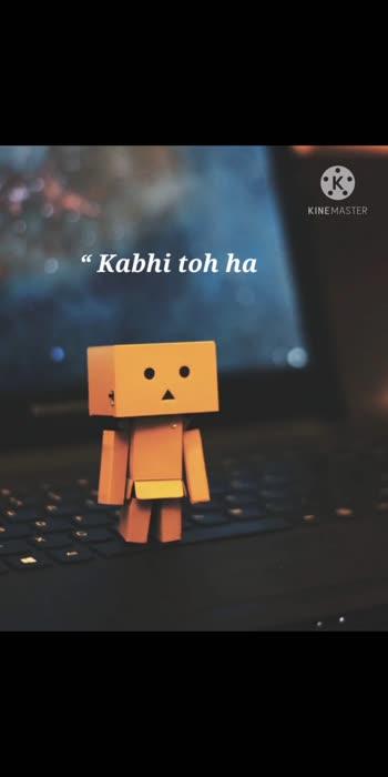 Aa kismat.😥😥💔💔 insta id = Shayarka.23 { Follow me🙏 }  #sadstatus #shayari #pyar #sadquotes #sadfeelings #felling #quotes #thoughts #roposostar #love #fellingsad #heartbroken #happy #jokes #shayari #share #hindisongs #urdupoetry #urdushayari #punjabi #cat #instagram #quotes #dance #daliy_wishes #daliyshayari #status #hindi #hindishayai #thanks ..