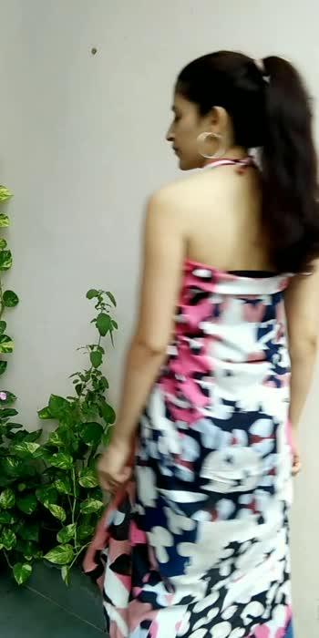 Scarf hacks part 3   #fashionblogger #styleblogger #risingstar #diy #croptop #trending