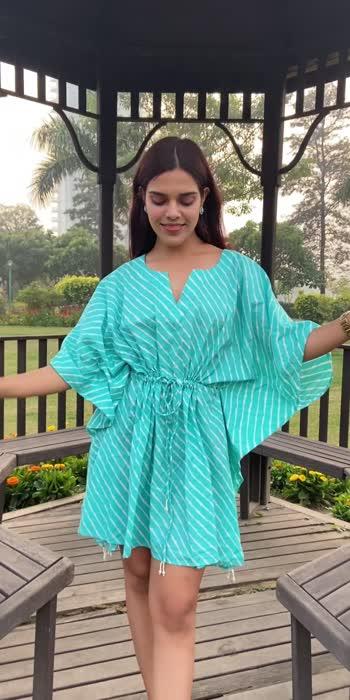 Buy this beautiful Kaftan Dress for 700 ❤️ Comment now! #fashionquotient #ramagiq #kaftan