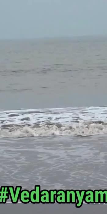 Vedaranyam beach  #Vedaranyam #beach