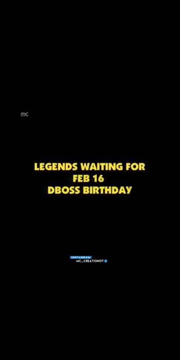 #dboss #darshanthoogudeepasrinivas #happybirthday #dboss