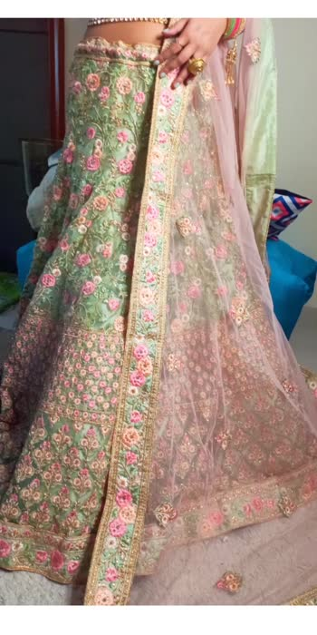 #bridalwear #lehanga