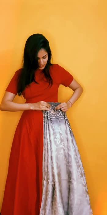 saree draping over a lehenga #sareefashion #sareedesignpatterns #sareenotsorry