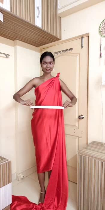 Party outfit Idea #fashion #fashionblog #fashionstyle #sareelove #sareestyle #roposostars