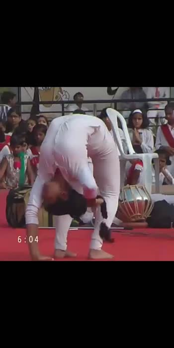 school acrobatics