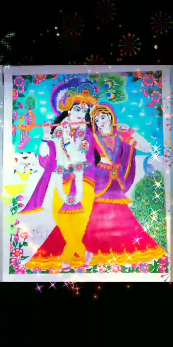 #krishnaradhalove #radhakrishna #painting #pain-of-love #drawing #foryou #foryoupage #roposo #roposostar #roposoviralvideos #viralvideo #janmashtami #janmashtamispecial #beautifulsong #beautifulsongvideo