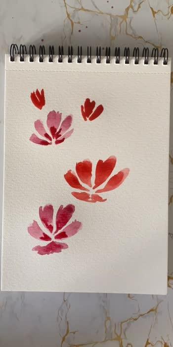 Florals 🌼 . . . #watercolour #watercolouring #watercolours #watercolor #watercoloupainting