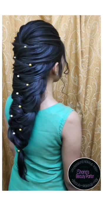 mermaid 🧜♀️ Hairstyle #mermaid #hairstyle #whtsapp_status #viral #trendingonroposo #trendinghairstyles #worldwide #openhair