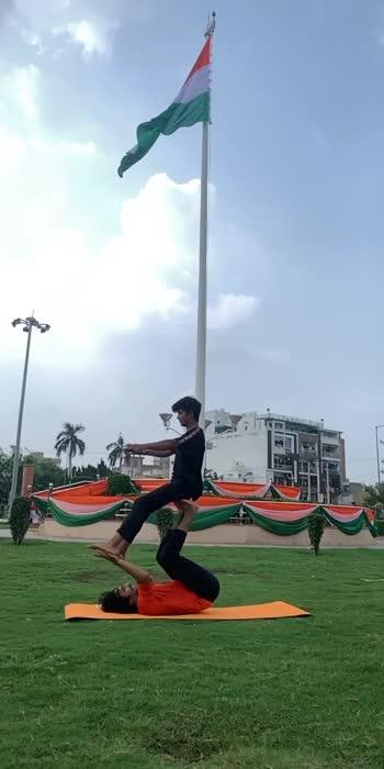 Indian acrobats 🇮🇳🔥