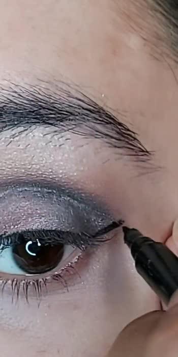 quick and easy smokey eyes tutorial   #smokey-eyes #smokey #smokeyeyemakeup #smokeyeyes #makeup #makeuptutorial