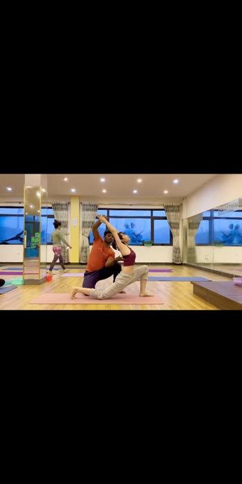 BackBend yoga 🧘♀️