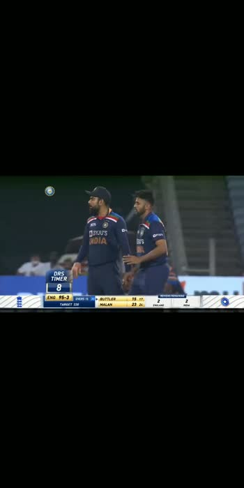 Paytm - INDvENG ODI series_ Re-viewing the Buttler dismissal on loop!
