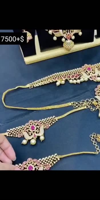 7500+$  #roposo #roposostar #trending #trendingvideo #trendeing #trendingonroposo #jewellerytrends #jewellery #jewelleryaddict