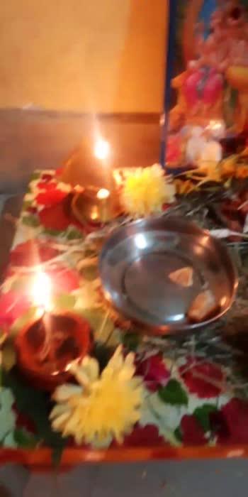 #ganapathibappamoria #ganapathi #ganesha #pooja #positivevibesalways