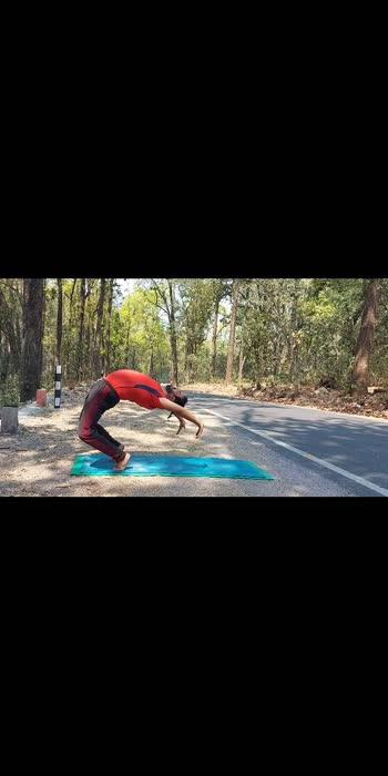 ॥चक्रासन॥ #yogachallenge #yogapose #roposostar