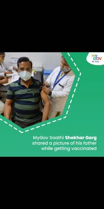 Did you take the #COVIDVaccination recently? Then, here's your chance to inspire millions to get vaccinated too! Share your pictures with an interesting tagline & you can stand a chance to win ₹5,000! Visit:https://bit.ly/3sFLakx