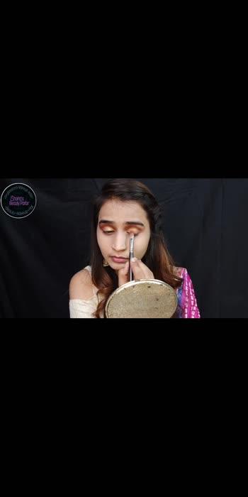 Indian wedding guest makeup look #makrupartist #makeuptutorialforbiginners #makeupblogger #viralvideo #makeuplover #foryou