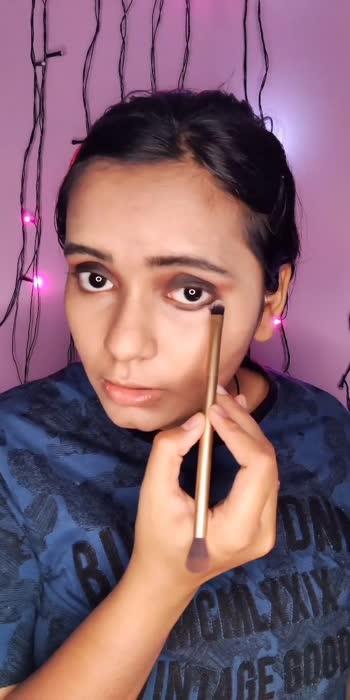 make up 🖤 #makeupartist #makeup #roposomakeup #roposomakeup #roposomakeupartist