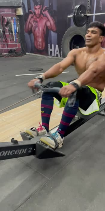 ❤️ROWING WORKOUT—- #crossfit #crossfitgames #rowing #trendingvideo #viralvideos