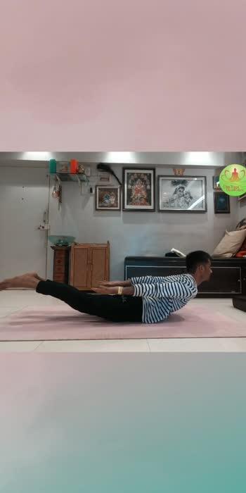 How to do locust pose... . . .  #locustpose #yoga #yogalife #yogaeverywhere #omyoga #meditation #yogapractice #yoga #yogareel