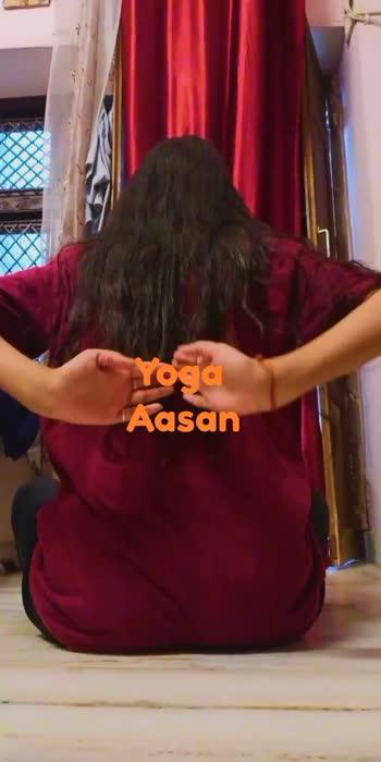 #yogachallenge #yoga #fitness #fitindia #roposo-beats #roposoyogaday #loveforroposo
