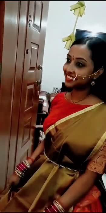 Pandhakaal Poojai look #wingofmymind #pandhakaalpoojai #prebridal #bridallook #bridalwear #ethnicwear #ethnicjewellery #ethniclook