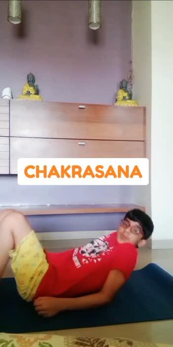 #chakrasana #yogachallenge #roposochallenge #trending #risingstar