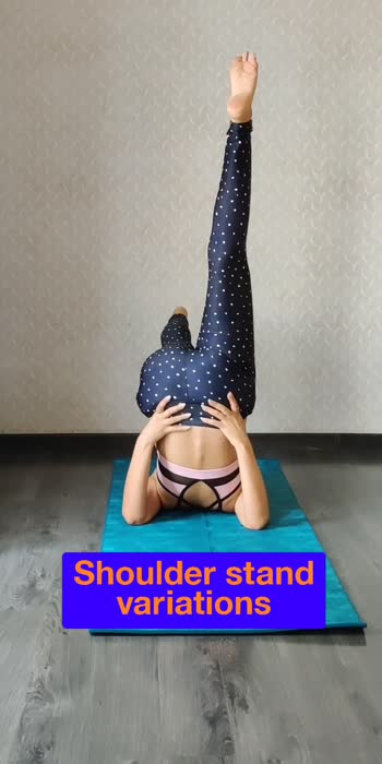 """You are as young as your spine is flexible.""  #yogachallenge #yogalove #yogainspiration #yogadaily #shoulderstand#sarvangasana #sarvangaasan #sarvangasanavariations#yogapractice #yoga4roposo #yogaeveryday #yogaeverydamday #yogaeverydiay"