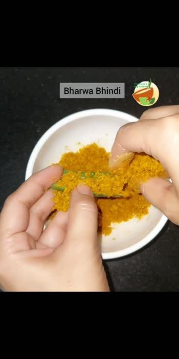 Bharwa Bhindi... Stuffed okra #hungrytv