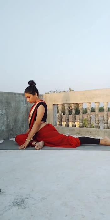 #yogachallenge #yogini  #yogawitharchu #yogalovers  #roposoyoga