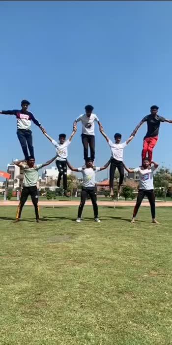 Radhe Radhe✊✊#acrobatics #gymnastics #acrobalance #sports