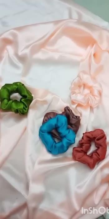 dm for scrunchies order