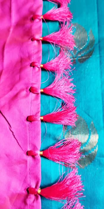 done by me  #sareefashion #sareelove #sareekuchu #sareetassels #sareekuchu #tassels #tassel #deviarts #fashion