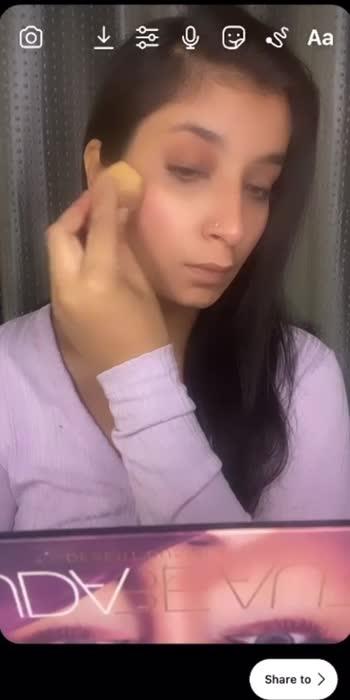 Too much makeup !! #makeup