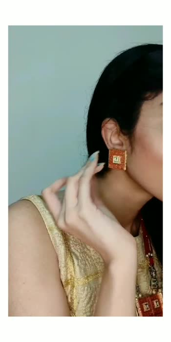 #gettingready#grwm#indianwear#festivewear#resopo#allindia#stylish#stylingtips#positivevibes#posting