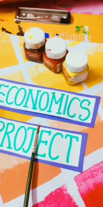 Book your school projects today!! #firstvideo #firstvideoonroposo #spreadpositivity #projects #projectdesign #roposo #eidmubarak #eidmubarak2020  #firstpost #wokeuplikethis
