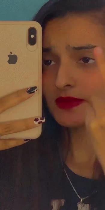 Kyo na Tu Dekhe Dill Da Haal Mera🥺🥺  #punjabi #punjabisong #punjabisonglover #openhair #openhairstyle #redlips #iphone #makeuplover
