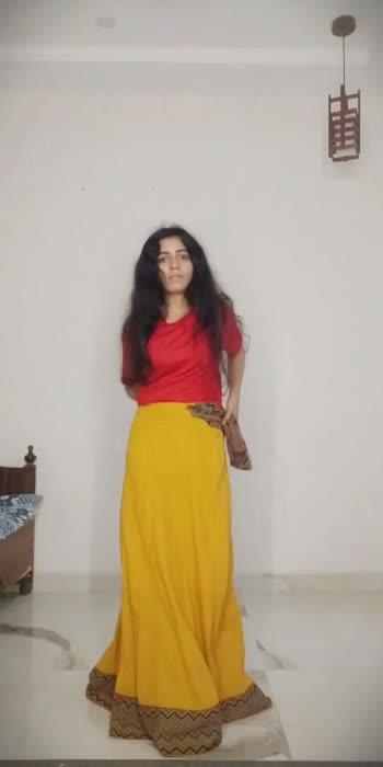 Oversized Kurta as a Lehanga