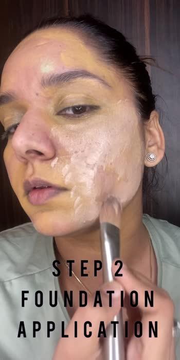 foundation application #how to apply foundation #makeupvideo #makeupvideos #makeupvideosdaily #makeupideas #makeupartist #fashionabdbeauty