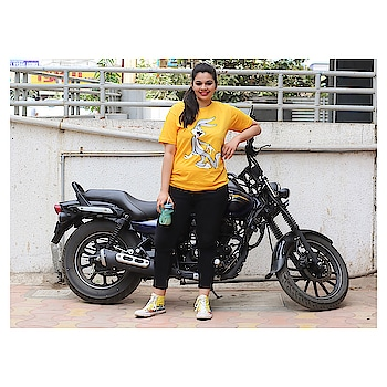 I recently got a desire to learn bike ridding and how cool would that be if you spot me ridding bullets on the streets of vadodara & mumbai 😍 . Who else gets such seasonal desires 😂 . Tee from @hieme_  #roposo #roposo-style #roposogal #roposoblogger #soroposo #soroposogirl #soroposostylefiles #soroposostylefiles #soroposolove #soroposoblogger #fashionblogger #fashionbloggerindia #mumbaifashionblogger #vadodarablogger