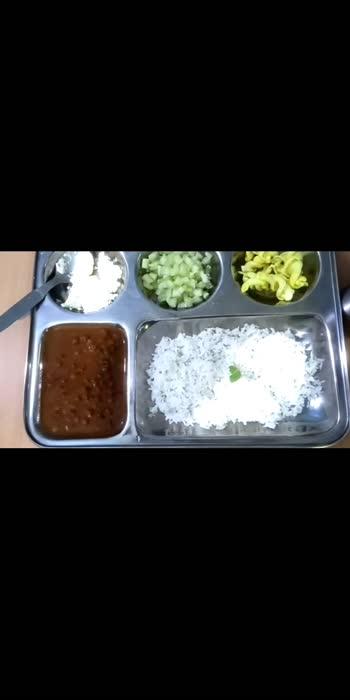 आ जाओ , खाना लग गया.... #food #lunchtime #lunchideas #kalachana #chana