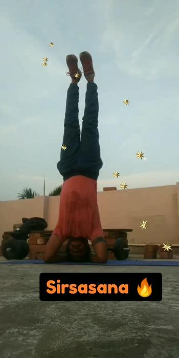 #sirsasana #yoga #challenge #motivation #workout #workoutmotivation