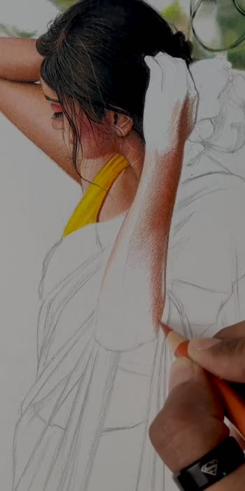 New color pencil drawing ✍️ Part 4 https://youtu.be/l5S2hEdqg7M Full video on YouTube  #art #sketch #roposoartist  #roposostar  #sketching #pencil #pencildrawing #drawingbook #roposoartcrafts #roposoarts #sketchbooks#colorful #colorsketch#viralvideo #viral_video #artoftheday