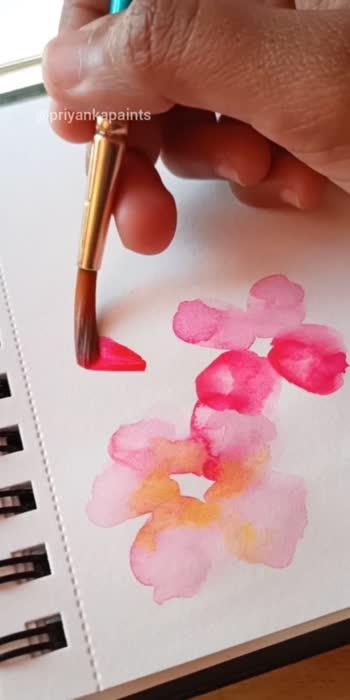 watercolor florals.   #watercolour #watercolorpainting #watercolorillustration #floralprint #florals #artist #art