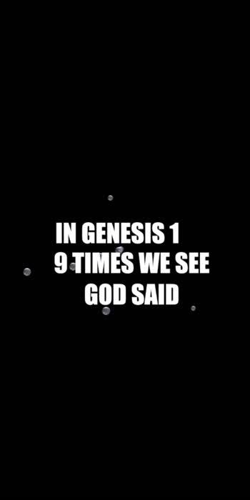 God Said    Genesis 1 #NaveenJohn #NaveenJohn4u #Love #CAG #NJ #Christian #DailyMotivation #DailyVerse #Corona  https://youtu.be/LjD4855HRNM