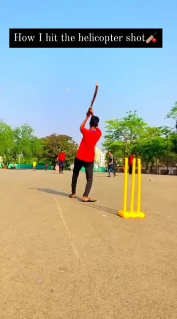 Mention down diehard fan of @mahi7781 sir❤🏏 follow on Instagram @yash__kalsekar__ . . . . #cricket #cricketpractice #crickerstatus #cricketlovers #trend #trending #viral #roposostar #cricketfever