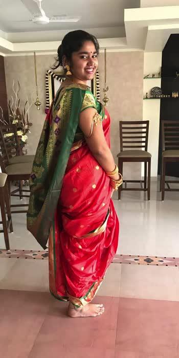 Saree #navari #saree