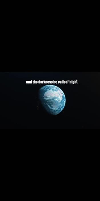 First day - Genesis 1:5 #NaveenJohn #NaveenJohn4u #Love #CAG #NJ #Christian #DailyMotivation #DailyVerse  https://youtu.be/cFI7VdS27Sc