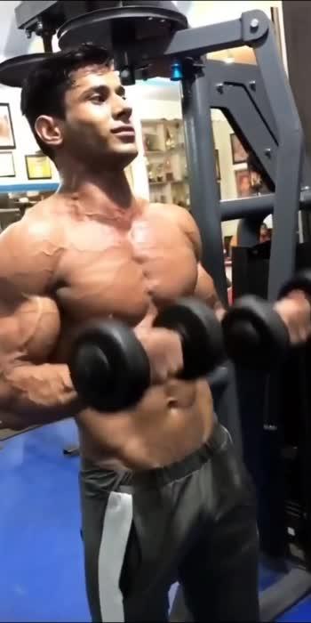 lean muscle gain #lookgoodfeelgood #gabru_channel #roposostar