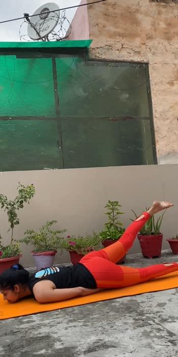 #roposo #yogaforbackpain